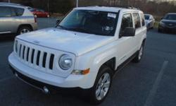 Check out this gently-used 2014 Jeep Patriot we recently got in. This Jeep Patriot offers all the comforts of a well-optioned sedan with the utility you demand from an SUV. This 4WD-equipped vehicle w
