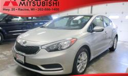 Options:  2014 Kia Forte Lx Silver A Whole New Experience In Car Buying Less Than 18K Miles!! All The Right Toys! Kia Fever! Just Arrived*** Safety Equipment Includes: Abs Traction Control Curtain Air