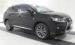 2014 Lexus RX 350 F Sport. AWD and F Sport Black Leather. Come to the experts! GPS Nav! An Exclusive Collection of Pre-Owned vehicles with special 1.9% APR available up to 60 mo financing at $17.48 a