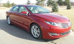 Options:  2014 Lincoln Mkz Base|Rear-View Camera! Push To Start! Lincoln Certified! Low Miles Indicate The Vehicle Is Merely Gently Used. Take Your Hand Off The Mouse Because This Stunning 2014 Lincol
