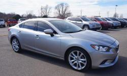 FUEL EFFICIENT 38 MPG Hwy/26 MPG City! Mazda6 i Touring trim. CD Player, Keyless Start, Dual Zone A/C, Bluetooth, Aluminum Wheels, Back-Up Camera, iPod/MP3 Input. CLICK NOW!======KEY FEATURES INCLUDE: