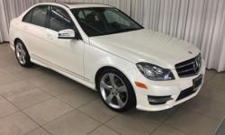 This outstanding example of a 2014 Mercedes-Benz C-Class C250 Sport is offered by Mercedes-Benz Of Honolulu. This Mercedes-Benz includes:  SPORT SEDAN PACKAGE REAR TRUNK LID SPOILER (PIO)  Rear Spoile