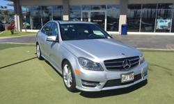 This 2014 Mercedes-Benz C-Class C250 Sport is proudly offered by Mercedes-Benz Of Maui When you purchase a vehicle with the CARFAX Buyback Guarantee, you're getting what you paid for. This vehicle was engineered to be both economically and environmentally