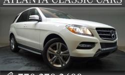 Options:  2014 Mercedes M-Class Ml350|Want To Save Some Money| Get The New Look For The Used Price On This One Owner Vehicle. Previous Owner Purchased It Brand New! This Mercedes-Benz M-Class Has A Gr