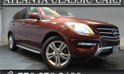 Options:  2014 Mercedes M-Class Ml350|Rare Bluetec Fuel Sippiong Ml350 In Hot Cinnabar Red! Such A Refined Suv|With A Fuel-Efficient Engine|Does Not Come Up For Grabs Very Often|So You Better Act Fast