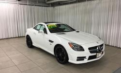 This 2014 Mercedes-Benz SLK-Class SLK250 is offered to you for sale by Mercedes-Benz Of Honolulu. This Mercedes-Benz includes:  PREMIUM PACKAGE  HD Radio Heated Front Seat(s) MP3 Player Universal Gara