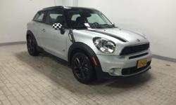 MINI Certified, ONLY 24,012 Miles! FUEL EFFICIENT 31 MPG Hwy/25 MPG City! Heated Seats, Moonroof, WHITE TURN-SIGNAL LIGHTS, TRANSMISSION: 6-SPEED MANUAL, Captains Chairs, iPod/MP3 Input, All Wheel Dri