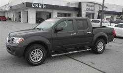 Thank you for your interest in one of Crain Hyundai Of Fort Smith's online offerings. Please continue for more information regarding this 2014 Nissan Frontier SV with 18,700 miles. This low mileage Ni