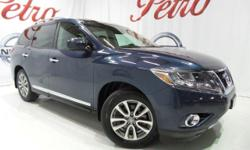 2014 Nissan PathfinderCARFAX One-Owner. Clean CARFAX.26/20 Highway/City MPG  Options:  2-Stage Unlocking|Abs Brakes (4-Wheel)|Adjustable Rear Headrests|Air Conditioning - Air Filtration|Air Conditioni
