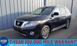 Check out this gently-used 2014 Nissan Pathfinder we recently got in. This vehicle has had only one owner. This vehicle has met or exceed our standards of excellence and is being sold as a Certified P