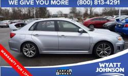 Imagine yourself behind the wheel of this good-looking 2014 Subaru Impreza. This car is nicely equipped with features such as * CLEAN VEHICLE HISTORYNO ACCIDENTS *, * HEATED SEATS *, * ONE OWNER *, an
