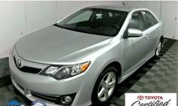 Camry SE, 4D Sedan, 6-Speed Automatic, ABS brakes, Air Conditioning, CLEAN CAR FAX HISTORY, Dual front impact airbags, Dual front side impact airbags, Electronic Stability Control, Power steering, Pow