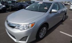 Recent Arrival! 2014 Toyota Camry LE 2014.5CARFAX One-Owner. Clean CARFAX. Ash w/Fabric Seat Trim, ABS brakes, Electronic Stability Control, Illuminated entry, Low tire pressure warning, Remote keyles