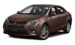 NAVIGATION,SUNROOF. Corolla LE Premium and CVT. Like new. In a class by itself! Every Used Car purchased at Tarbox Toyota includes a complimentary 1yr/15,000 mile Toyota Auto Care maintenance plan alo
