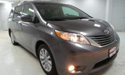 2014 Toyota Sienna XLE 7 Passenger CARFAX One-Owner.  ALL WHEEL DRIVE, NAVIGATION GPS NAV, SUNROOF MOONROOF, NEW BRAKES, **IRON CLAD WARRANTY FOR LIFE**, BLUE TOOTH, REAR BACK UP CAMERA.  Awards: * KB