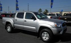 This outstanding example of a 2014 Toyota Tacoma PreRunner is offered by Crain Hyundai Of Fort Smith. The Toyota Tacoma PreRunner has been lightly driven and there is little to no wear and tear on thi