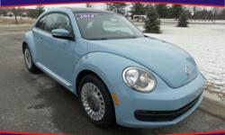 Options:  2014 Volkswagen Beetle 2.5L|Blue|Push To Start! Power Moon Roof! Hurry And Take Advantage Now! Talk About A Deal! If You Travel A Lot|You're Going To Love This Great 2014 Volkswagen Beetle W