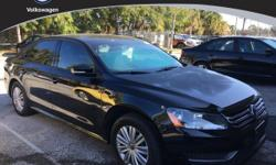 You NEED to see this car! Here it is! Family appeal with a sporty feel ! If you are looking for a well-taken-care-of car, try this fantastic 2014 Volkswagen Passat and rest assured knowing that its fresh, never-smoked-in smell is the first sign of a