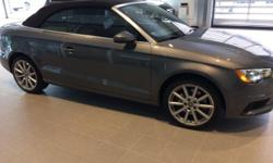 Needs nothing. Dealer maintained. Well-attended to by the dealership. Set down the mouse because this 2015 Audi A3 is the convertible you've been looking for. Audi has established itself as a name ass