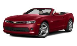 George Nunnally Chevrolet means business! Hurry in! If you travel a lot, you're going to LOVE this outstanding 2015 Chevrolet Camaro with low, low mileage. This wonderful Chevrolet is one of the most