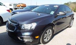 BLUETOOTH, ONE OWNER, CLEAN CARFAX, SIRIUS RADIO, REMOTE KEYLESS ENTRY, ON STAR, NON-SMOKER, LOW MILES, FUEL EFFICIENT, and OUTSIDE TEMPERATURE DISPLAY. ECOTEC 1.8L I4 SMPI DOHC VVT, 6-Speed Automatic