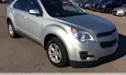 Priced below KBB Fair Purchase Price!  Chevrolet Equinox  Clean CARFAX. CARFAX One-Owner.  **Accident Free Carfax History Report**, **Fresh Trade**, Equinox LT 1LT, Silver Ice Metallic.  32/22 Highway/City MPG  Reviews:    * Premium look inside and out;