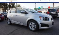 Options:  2015 Chevrolet Sonic Lt Auto|Lt Auto 4Dr Hatchback|You Won't Find A Better Car Than This Fantastic-Looking 2015 Chevrolet Sonic. There Aren't Any Used Vehicles More Reliable Than A Chevrolet