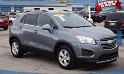 2015 Trax 1LT!!! CLEAN CARFAX ONE OWNER**REAR BACK-UP CAMERA**MOONROOF/SUNROOF** FREE OIL CHANGES AND TIRE ROTATIONS FOR A YEAR AT PATSY LOU CHEVROLE.  This vehicle also includes: Bluetooth Capabiliti