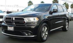 Options:  2015 Dodge Durango Limited|Brilliant Black Crystal Pearlcoat/|V6 3.6 L Automatic|46448 Miles| Rear Wheel Drive| Power Steering| Abs| 4-Wheel Disc Brakes| Brake Assist| Aluminum Wheels| Tires