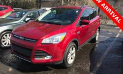 2015 Ford Escape SE AWD* BACK UP CAMERA* BLUETOOTH HANDS FREE* AUTOMATIC CLIMATE CONTROL* ALL WHEEL DRIVE* ALLOY WHEELS* AUX INPUT JACKAwards:  * 2015 JD Power Initial Quality Study (IQS)  * 2015 KBB.
