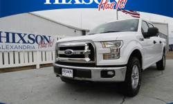 This 2015 Ford F-150 XLT is offered to you for sale by Hixson Autoplex of Alexandria. When you purchase a vehicle with the CARFAX Buyback Guarantee, you're getting what you paid for. This Ford F-150 X