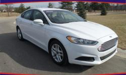 Options:  2015 Ford Fusion Se|White|Rear-View Camera! Ford Certified! Looks And Drives Like New. If You're Looking For An Used Vehicle In Outstanding Condition|Look No Further Than This 2015 Ford Fusi