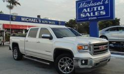 Options:  2015 Gmc Sierra 1500 Slt|White|6-Speed Automatic Electronic With Overdrive And Gray. Crew Cab! Short Bed! If You're Looking For Comfort And Reliability That Won't Cost You Tens Of Thousands