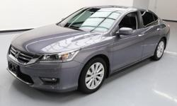 This awesome 2015 Honda Accord comes loaded with the following features: 2.4L I4 Engine, Automatic Transmission, Leather Seats, Heated Front Seats, Power Front Seats, Driver Seat Memory, Power Glass M