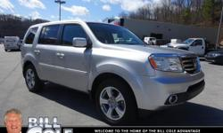6 Cylinder  Options:  5-Speed Automatic|Cole Honda Nissan Subaru Kia Is Proud To Serve Bluefield And All Of The Surrounding Areas. Take Command Of The Road In This 2015 Honda Pilot! This Vehicle Is Eq