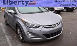 Affordable and reliable transportation, this 2015 Elantra has power options and a price point that fits the budget!  Options:  Front Wheel Drive|Am/Fm Stereo|Cd Player|Audio-Satellite Radio|Mp3 Sound