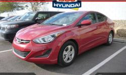 Say goodbye to the gas-guzzler. A real treat to drive. $ $ $ $ $ I knew that would get your attention! Now that I have it, let me tell you a little bit about this gorgeous 2015 Hyundai Elantra. Hyunda