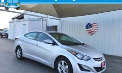 Step into the 2015 Hyundai Elantra! It comes equipped with all the standard amenities for your driving enjoyment. This 4 door, 5 passenger sedan still has fewer than 40,000 miles! Hyundai prioritized