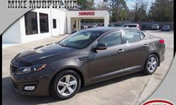 4 Cylinder  Options:  6-Speed Shiftable Automatic|Buckle Up For The Ride Of A Lifetime! This 2015 Kia Optima Lx Includes Top-Notch Braking Assist|A Power Outlet|Hill Start Assist|Stability Control|Tra