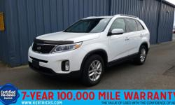 This 2015 Kia Sorento LX is offered to you for sale by Hertrich Nissan. This vehicle has had only one owner. This vehicle has passed our highest inspection standards and is therefore awarded a Certifi