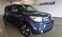Kia Certified, 2.0L 4-Cylinder DOHC, and 6-Speed Automatic. Like new. A-1 Condition! Be the talk of the town when you roll down the street in this robust, reliable 2015 Kia Soul. Kia Certified Pre-Own