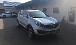 This 2015 Kia Sportage LX is proudly offered by Big Island Honda - Kona On almost any road condition, this Kia Sportage LX offers solid performance, reliability, and comfort. One of the best things ab