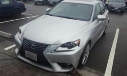 Premier Subaru of Fremont is pleased to be currently offering this 2015 Lexus IS 250 with 32,940 miles. This 2015 Lexus IS 250 comes with a CARFAX Buyback Guarantee, which means you can buy with certa