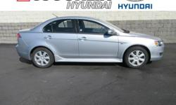 New Price! Clean CARFAX. CARFAX One-Owner. Priced below KBB Fair Purchase Price! ***This 2015 Mitsubishi Lancer ES is a great choice***. Reviews:  * Strong engines in upper trim levels; confident hand