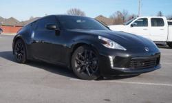 Join us at Classic Lawton Chevrolet! Call ASAP! Your quest for a gently used car is over. This charming 2015 Nissan 370Z has only had one previous owner, with a great track record and a long life ahea
