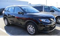 ONE OWNER CLEAN CARFAX!! AWD. Judicious with every drop of gas. Wonderful gas mileage! This attractive 2015 Nissan Rogue is a great little SUV! It gives you plenty of GO and won't kill your billfold!