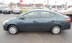 This outstanding example of a 2015 Nissan Versa S is offered by Taylor Kia Of Boardman. When you purchase a vehicle with the CARFAX Buyback Guarantee, you're getting what you paid for. Why spend more