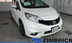 Options:  2015 Nissan Versa Note 5Dr Hb Cvt 1.6 Sr|4 Cylinder Engine|4-Wheel Abs|A/C|Adjustable Steering Wheel|Aluminum Wheels|Am/Fm Stereo|Back-Up Camera|Bluetooth|Brake Assist|Bucket Seats|Cd Player