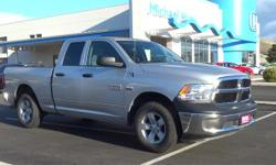 4D Quad Cab, HEMI 5.7L V8 Multi Displacement VVT, 8-Speed Automatic, and 4WD. Extended Cab! Short Bed! This superb 2015 Ram 1500 is the rare family vehicle you are searching for. This 1500 is sure to