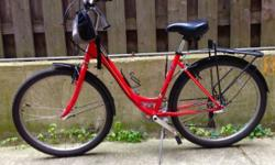 Right In Time for Valentine's Day... 2015 Schwinn Sierra 2 Hybrid/Comfort Bike w/ Fenders -Sturdy Steel frame -7 Speed -Comfy seat! -Great bike for a low-cost commuting option! Used less than 6 months